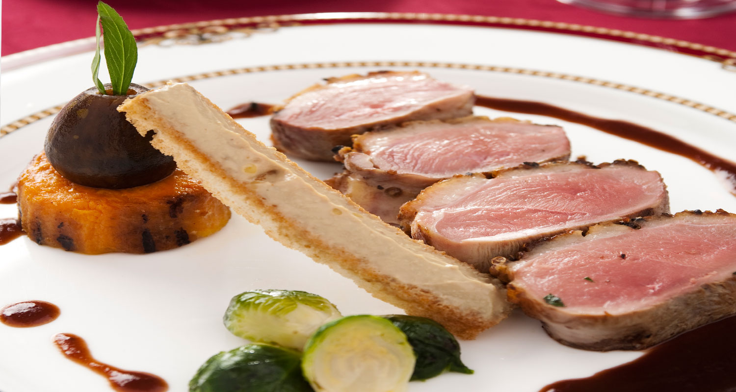 Roast Duck with Fig